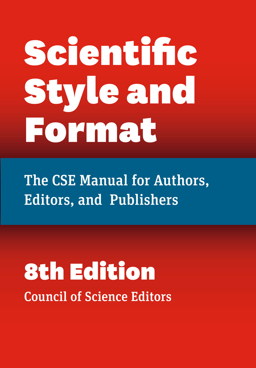 Cover for Scientific Style and Format, Eighth Edition