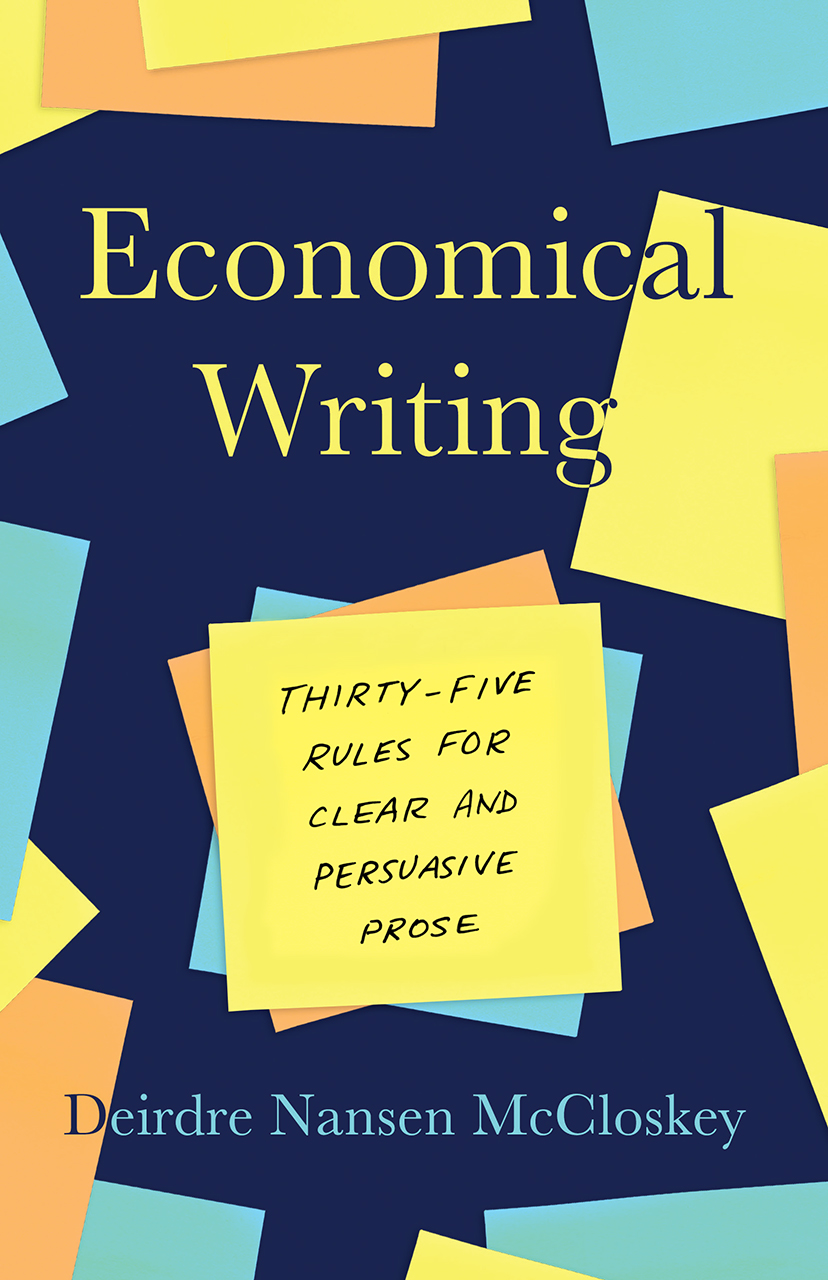 Cover image for McCloskey, Economical Writing