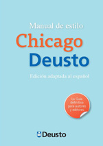 Cover image for Manual de estilo Chicago Deusto