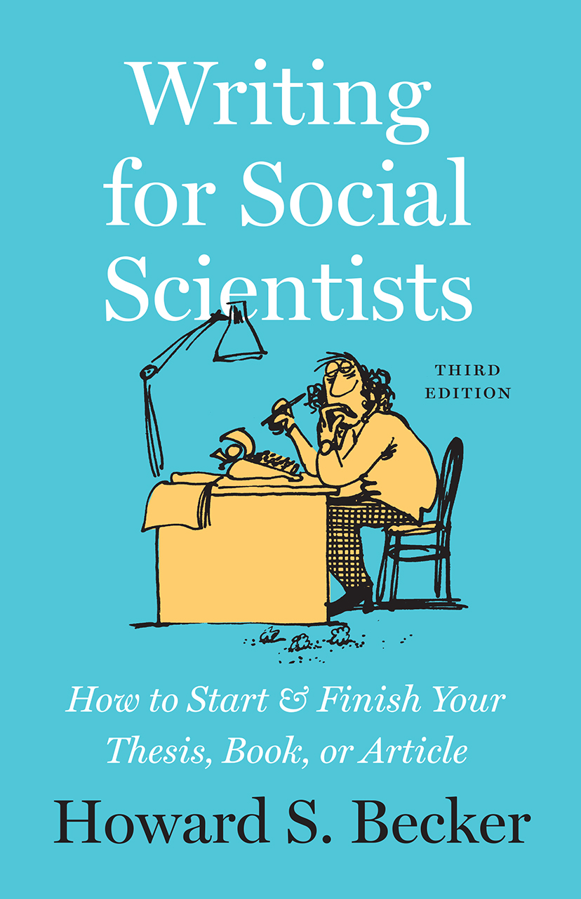 Cover for Becker, Writing for Social Scientists, Third Edition