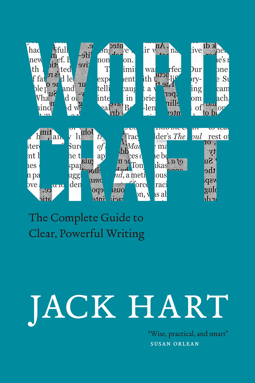 Book cover for Jack Hart, Wordcraft