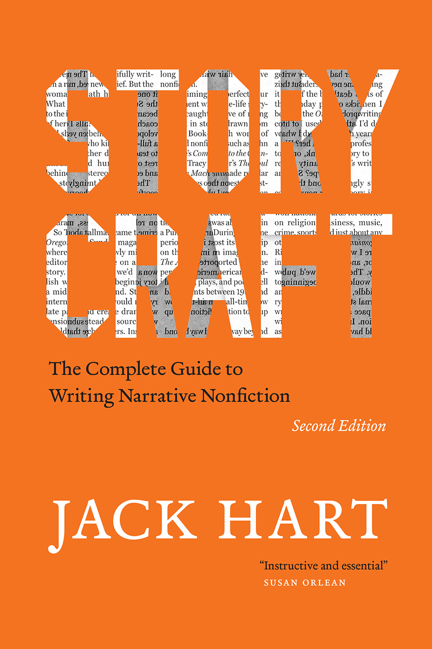 Book cover for Jack Hart, Storycraft, Second Edition