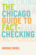 Book cover for The Chicago Guide to Fact-Checking