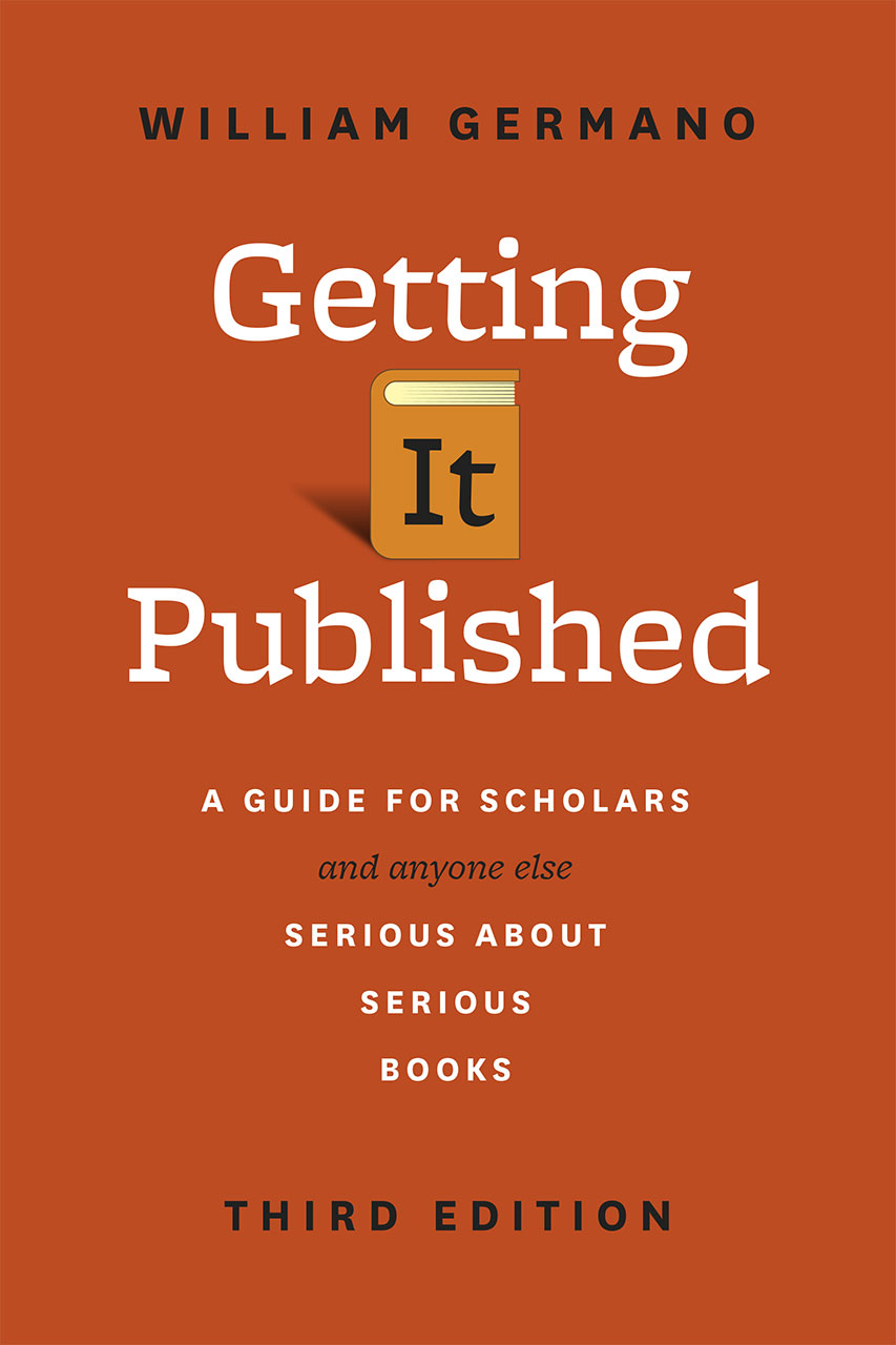 Book cover for William Germano, Getting It Published
